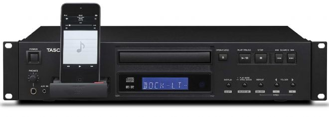 Tascam CD-200iL CD Player with iPod Dock